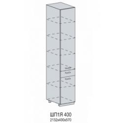 Валерия шкаф нижний пенал с 1 ящиком 400