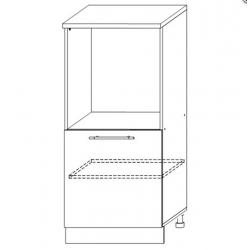 София - Лондон шкаф нижний под духовку высокий 600
