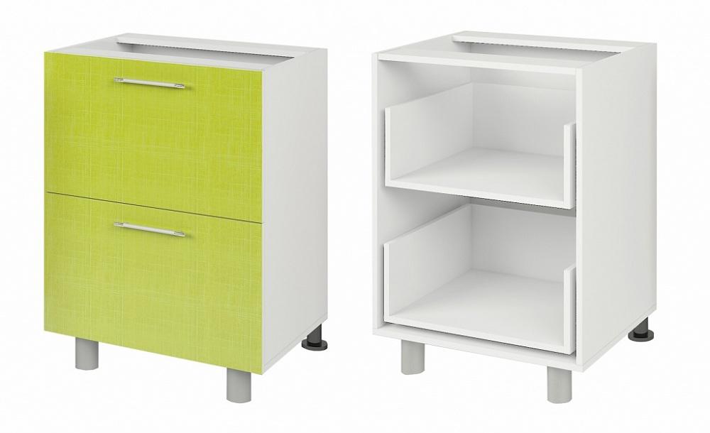 Шкаф-стол кухонный (600) с выдвижными ящиками (б/ст) мариЯ, .