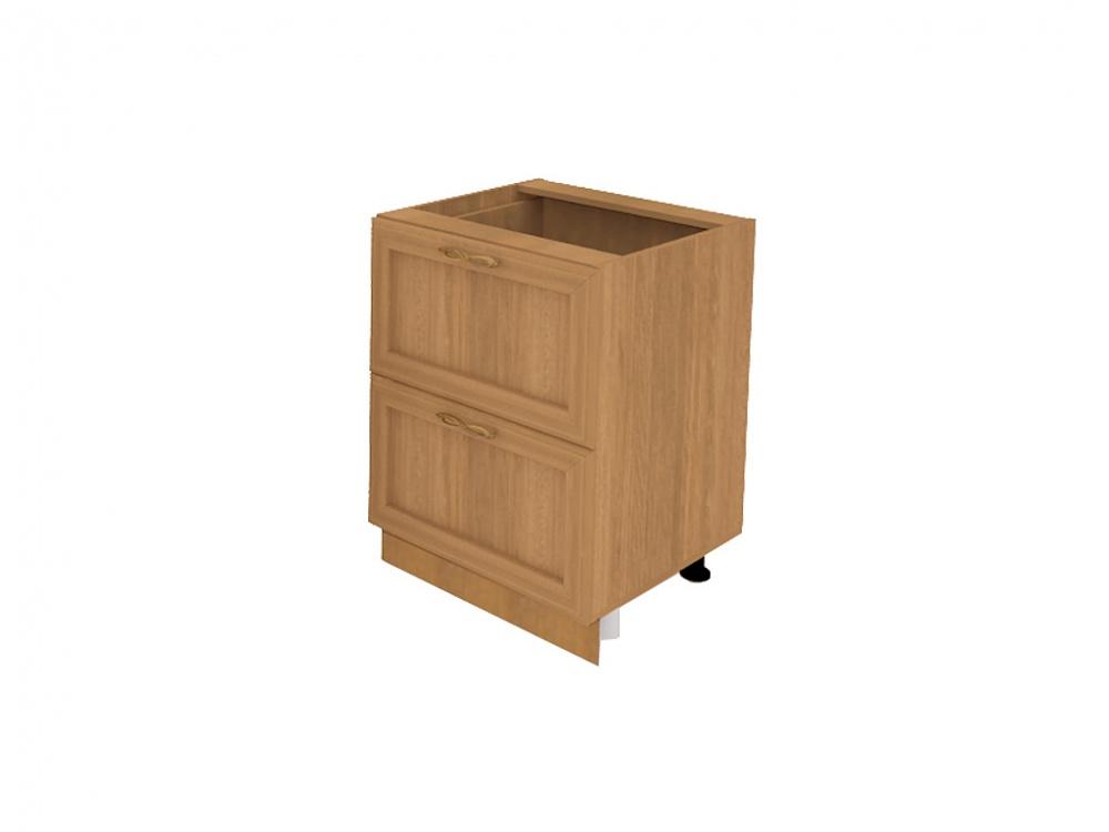 Шкаф-стол кухонный (600) с выдвижными ящиками (б/ст) софиЯ -.