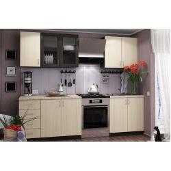 Кухня Татьяна 2 м  (цвет Венге)