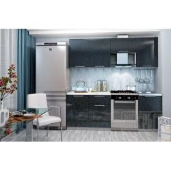 Кухня София 2,1м (черный)