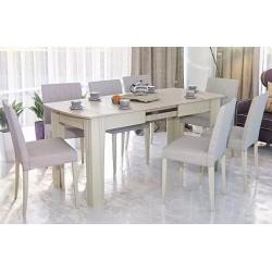 Стол обеденный раздвижной Лира