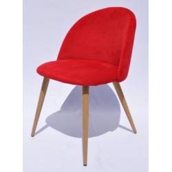Стул C-815 красный кресло мягкое