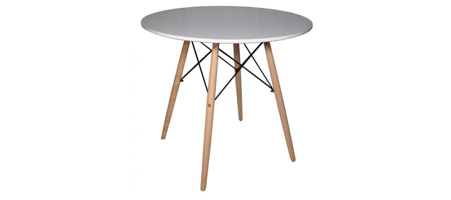 Стол обеденный SL680 диаметр 1000 белый