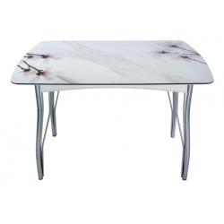 Стол обеденный Магнолии на Мраморе - 2, 1200
