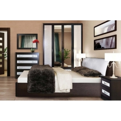 Спальня Кэт кожа