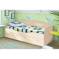 Детская кровать Бриз-2 беленый дуб