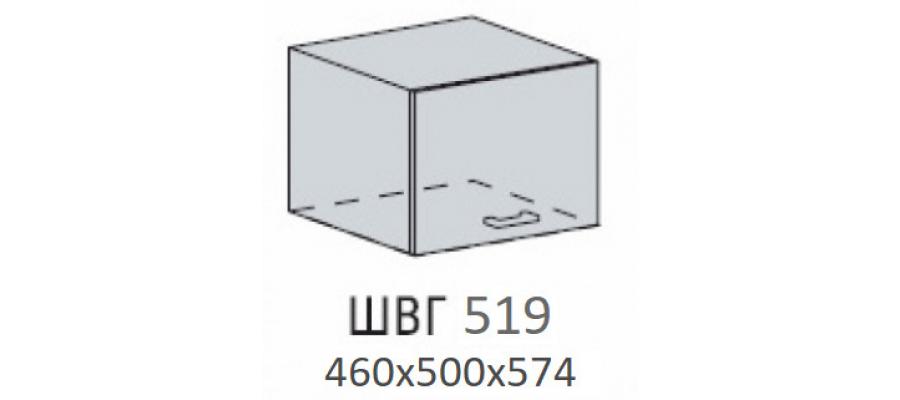 Валерия шкаф верхний антресоль глубокая высокая 500
