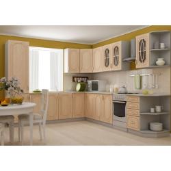 Кухня Настя модульная (цвет береза)
