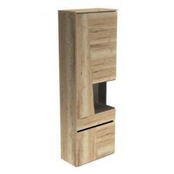 Гостиная Стреза шкаф с нишей высокий 700