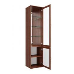 Моника шкаф витрина с дверью 500