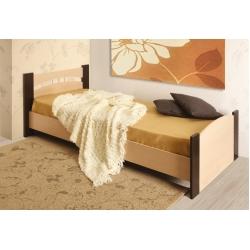 Кровать одинарная (Олмеко) бескаркасное основание 900мм