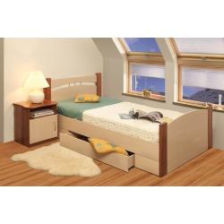 Кровать полуторная Олмеко 1200мм