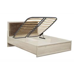 Кровать двуспальная с подъемным механизмом 32.26-01 Сохо (1400)