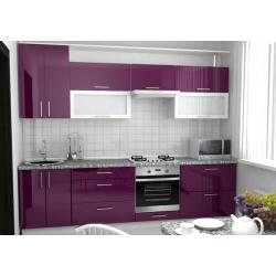 """Кухня пластик """"Фиолетовый"""""""