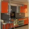 Кухня Апельсин глянец пластик