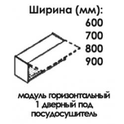Модуль верхний горизонтальный под посудосушитель 360