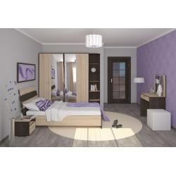 Мебель для спальни Александрия (венге цаво/дуб сонома)