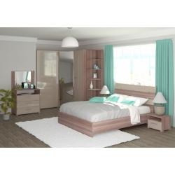 Мебель для спальни Александрия (ясень шимо/капучино)