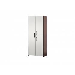 М11-Шкаф для платья и белья 3-х дверный, венге цаво/ белое