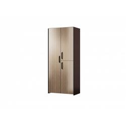М11-Шкаф для платья и белья 3-х дверный, венге цаво/ рафия