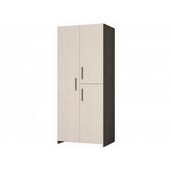 М11-Шкаф для платья и белья 3-х дверный, венге цаво/дуб беловежский