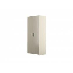 М13-Шкаф для платья и белья 2-х дверный, вяз ненси светлый