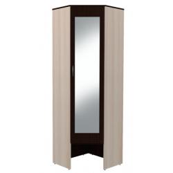 ПМ Ольга модуль № 9 шкаф угловой с зеркалом 660
