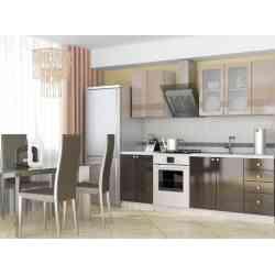 Кухня модульная София - Мокко комплект 1 (1,8 м)