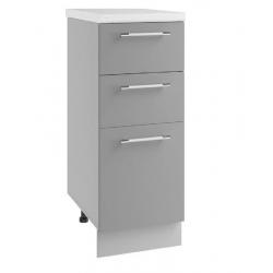 Гарда шкаф нижний с ящиками 300