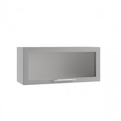 Гарда шкаф верхний горизонтальный со стеклом 800
