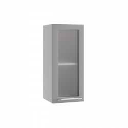 Гарда шкаф верхний со стеклом 300