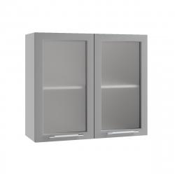 Гарда шкаф верхний со стеклом 800