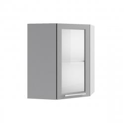 Гарда шкаф верхний угловой со стеклом 550