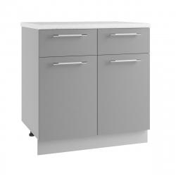 Гарда шкаф нижний с 2 ящиками 800