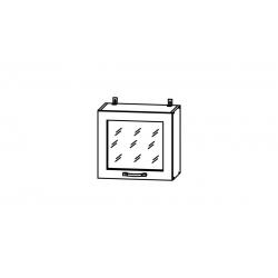 Гарда шкаф верхний горизонтальный со стеклом высокий 500