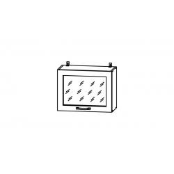 Гарда шкаф верхний горизонтальный со стеклом высокий 600