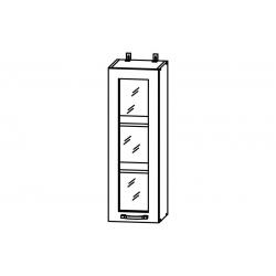 Гарда шкаф верхний со стеклом высокий 300