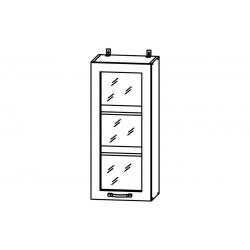 Гарда шкаф верхний со стеклом высокий 400