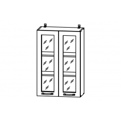 Гарда шкаф верхний со стеклом высокий 600