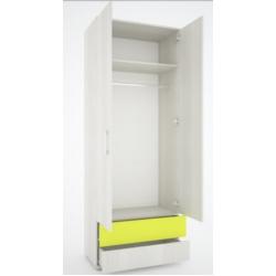 Вита шкаф двухдверный 800