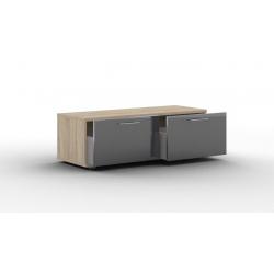 Lucido тумба-01 с выкатными ящиками 1200