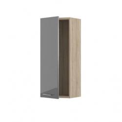 Lucido шкаф вертикальный-01 левый 400