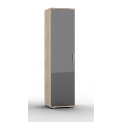 Lucido шкаф комбинированный-01 с выдвижной штангой 500