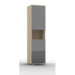 Lucido шкаф комбинированный-02 с нишей 500