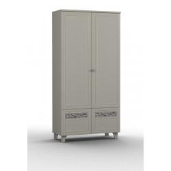 Twist шкаф комбинированный-04 фасад глухой 1000