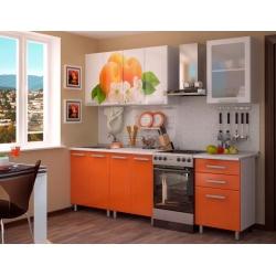 Кухня Персик готовый комплект 1,8м