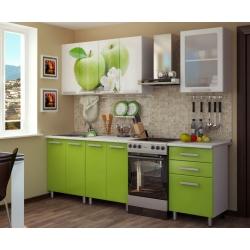 Кухня Яблоко готовый комплект 1,8м