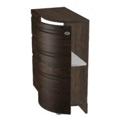 КМ Астана шкаф нижний торцевой радиусный 320